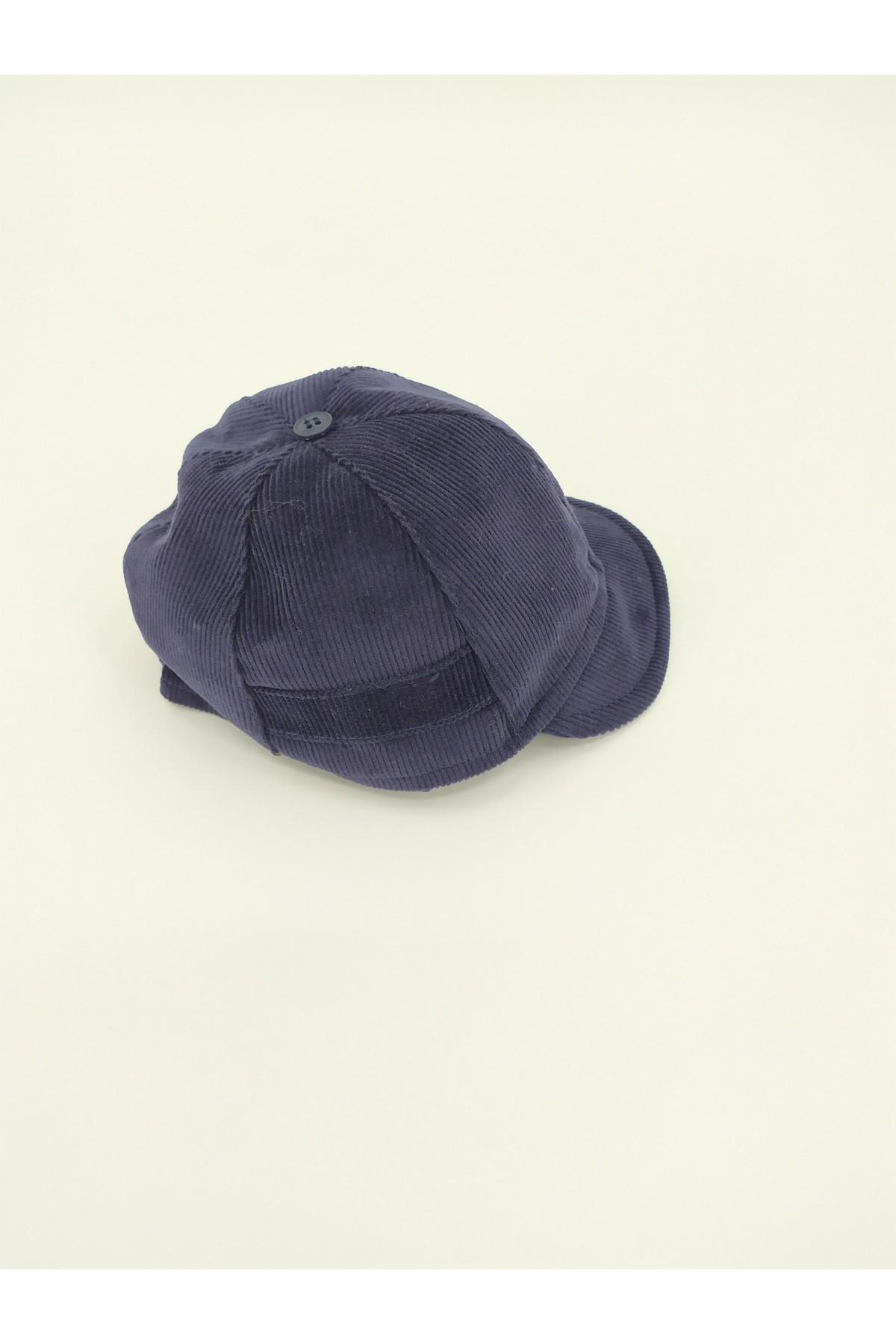 Καπέλο βάπτισης χειμερινό κοτλέ