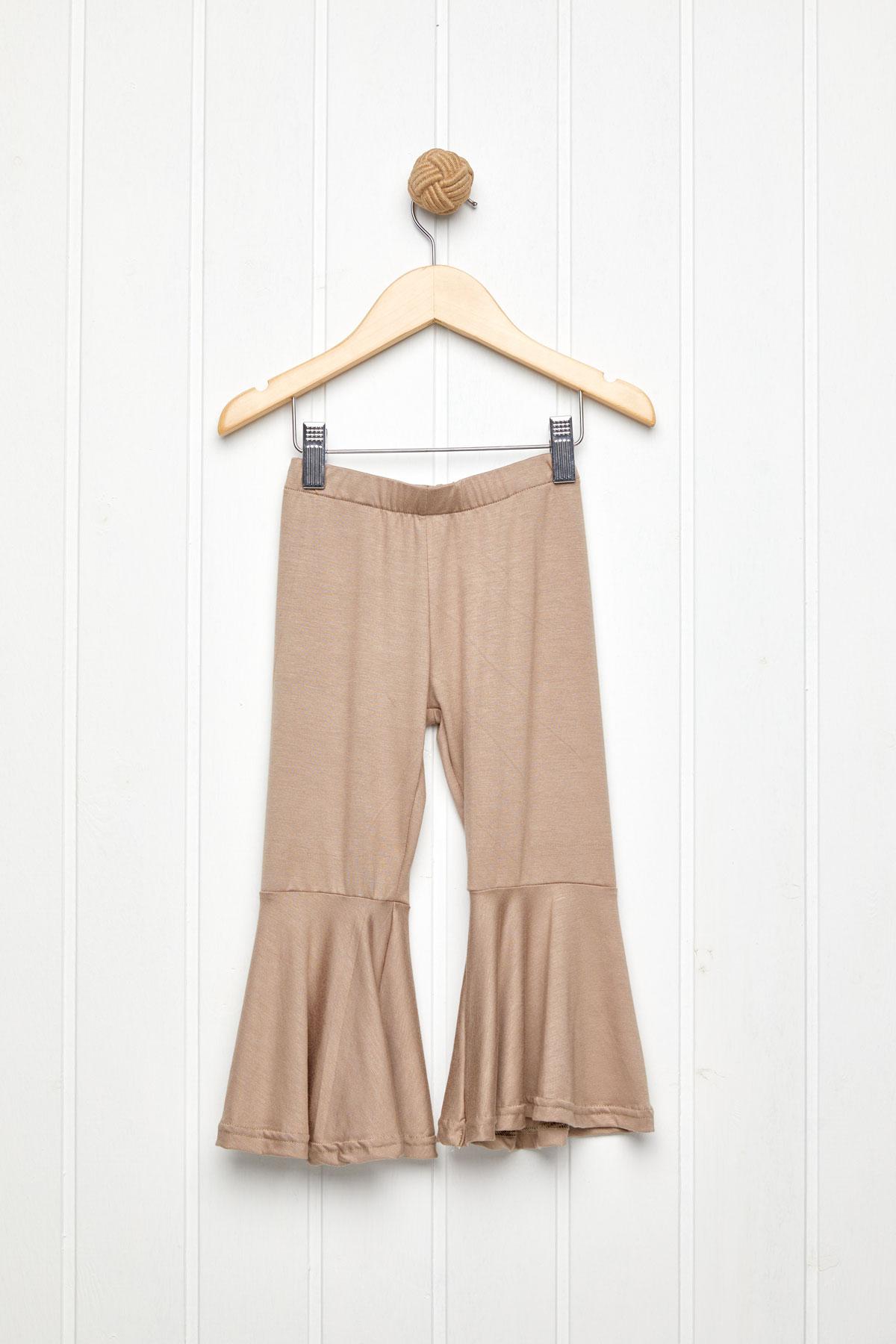 60's παντελόνι ελαστικό σοκολά