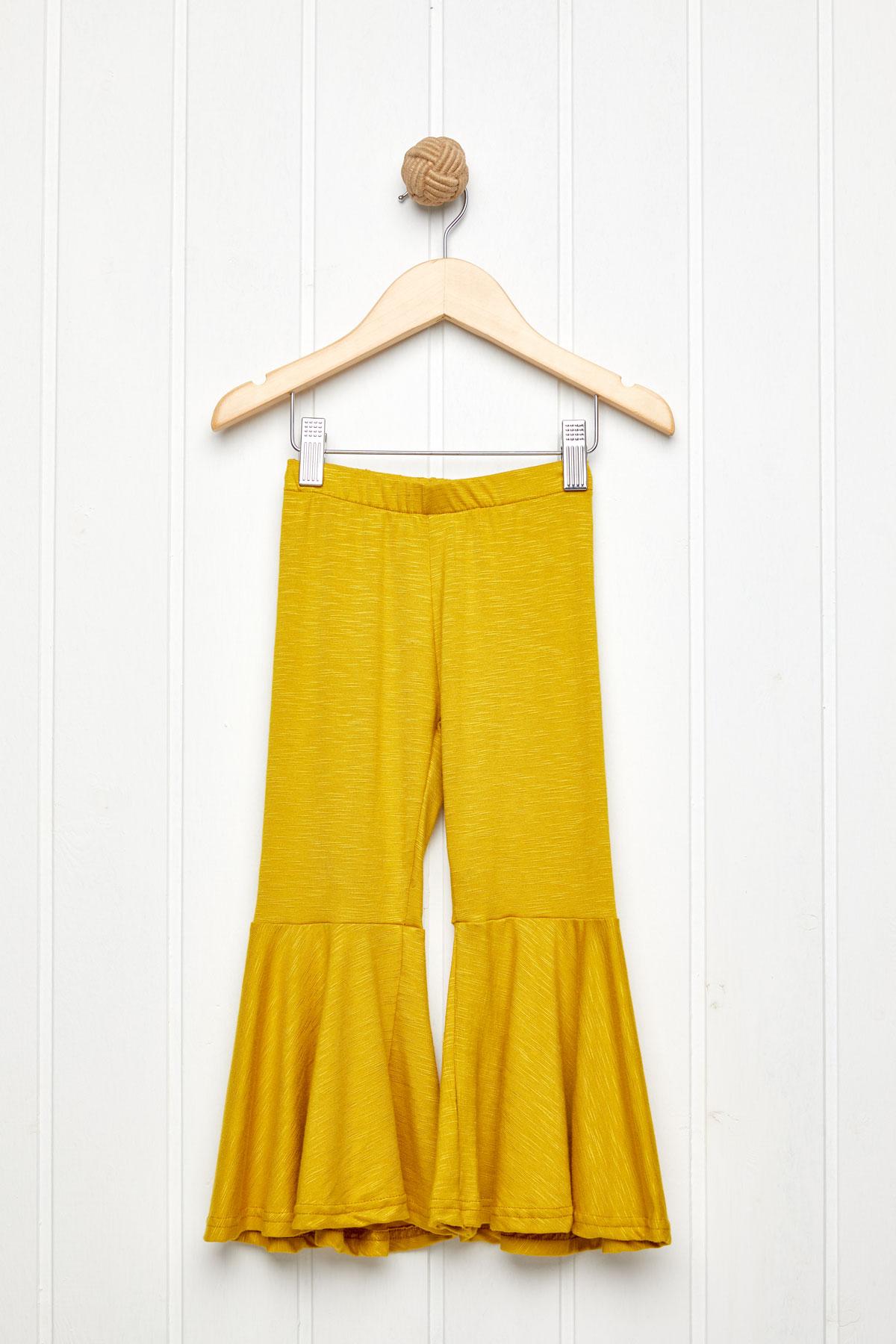 60's παντελόνι ελαστικό ώχρα