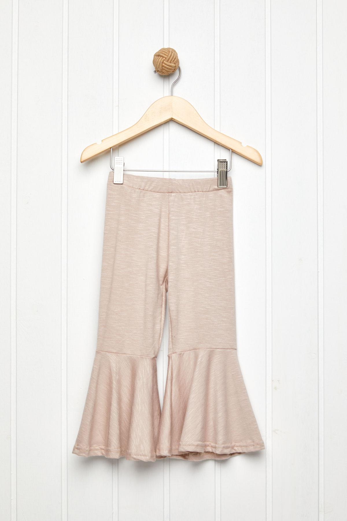 60's παντελόνι ελαστικό nude