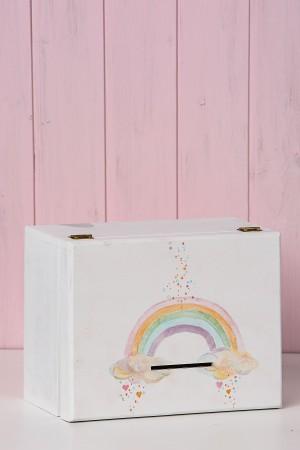 Κουτί ευχών oυράνιο τόξο